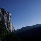 El Capitan by Moonlight by MattGranz