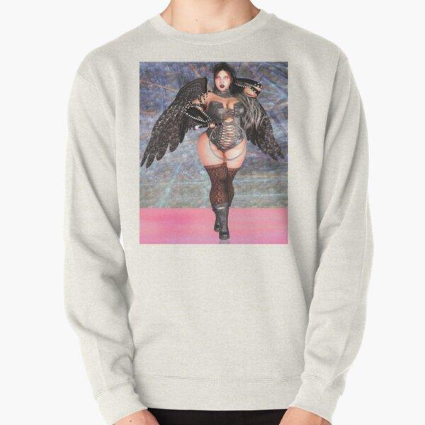 The Charcoal Cherub Pullover Sweatshirt