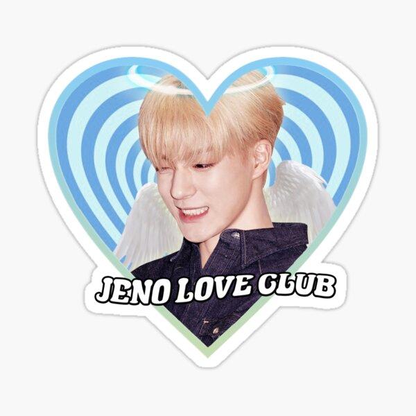 JENO love club Sticker
