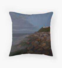 Nobbys Beach, Newcastle Throw Pillow