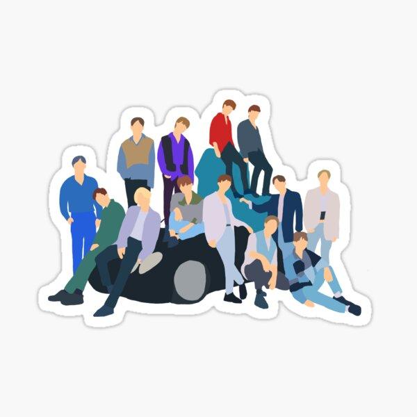 Hit - Seventeen (세븐틴) Sticker