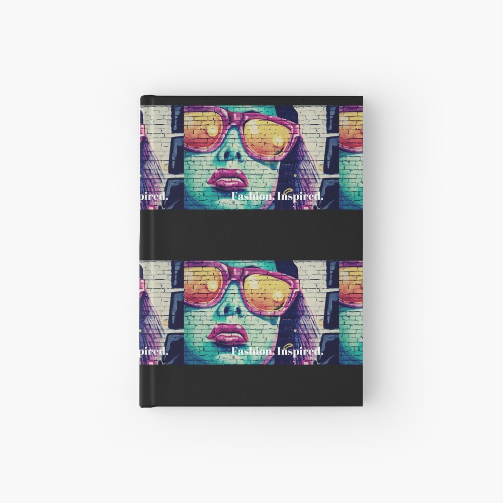 Fashion. Inspired. Hardcover Journal