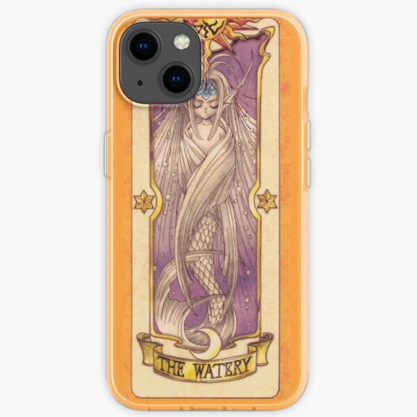 """Clow card """"The Watery"""" iPhone Soft Case"""