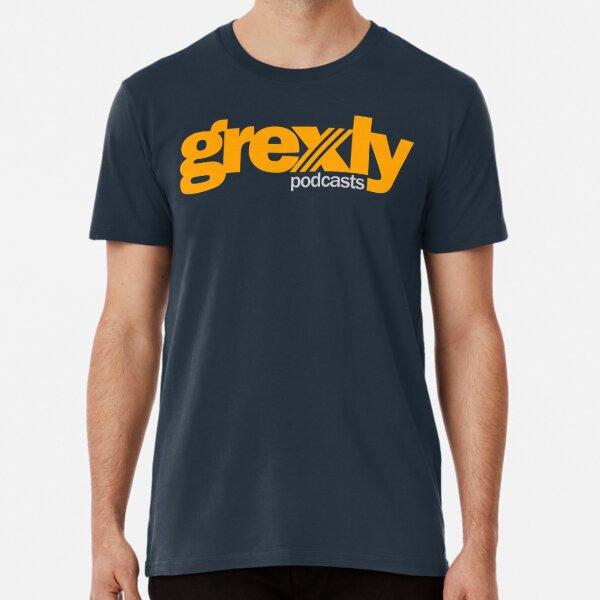 Grexly Podcasts (Orange) Premium T-Shirt