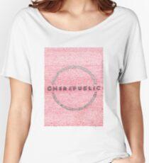 OneRepublic Lyric Art Women's Relaxed Fit T-Shirt