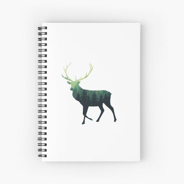 Forest Elk Spiral Notebook