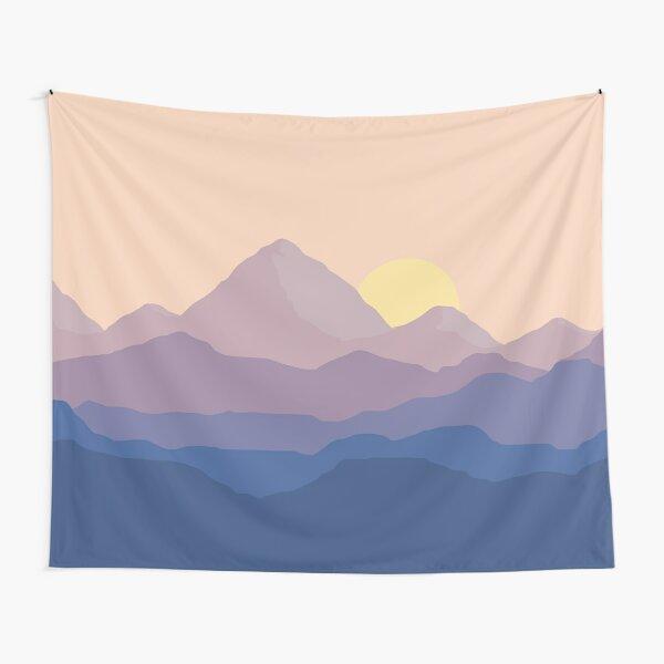 Chill Mountain Horizon Tapestry