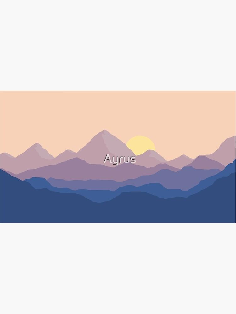 Chill Mountain Horizon by Ayrus
