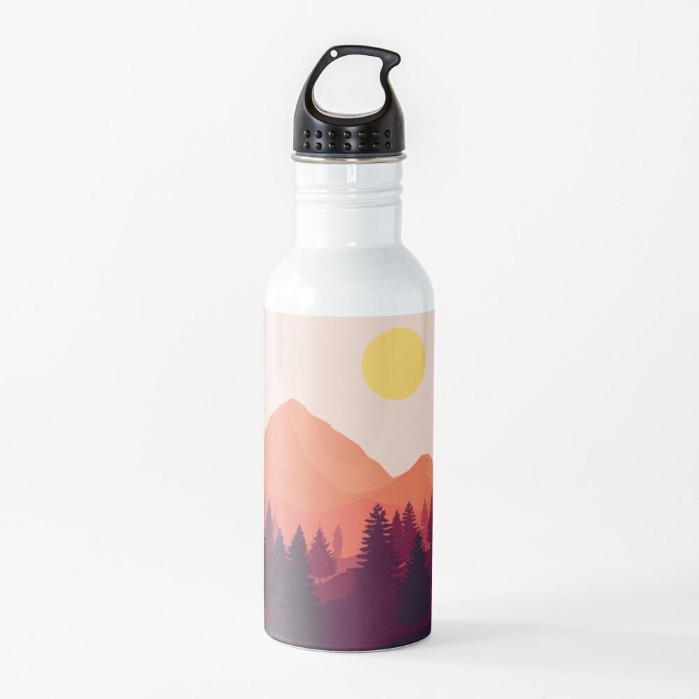 Forest Mountain Horizon Water Bottle