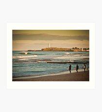 North Wollongong Art Print