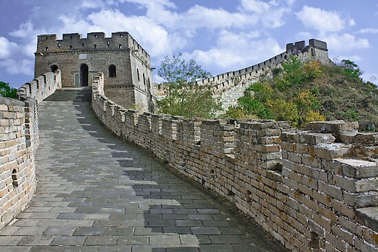 The Great Wall Series - at Mutianyu #1 by © Hany G. Jadaa © Prince John Photography