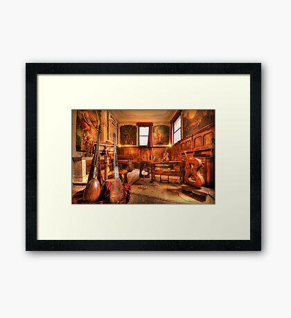 The Stringmaker's Workshop Framed Print