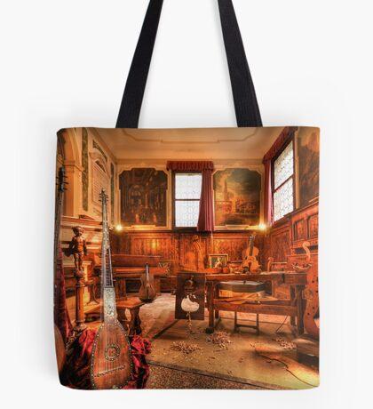 The Stringmaker's Workshop Tote Bag