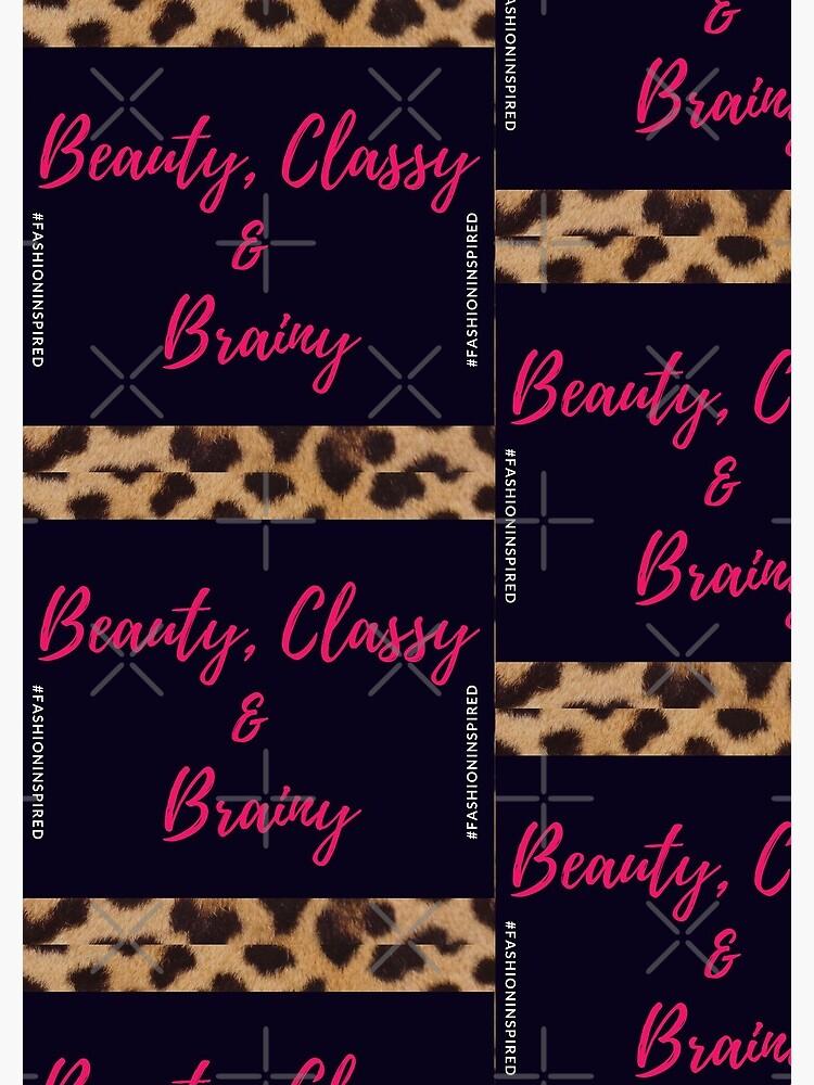 Beauty, Classy & Brainy by Rasia0820