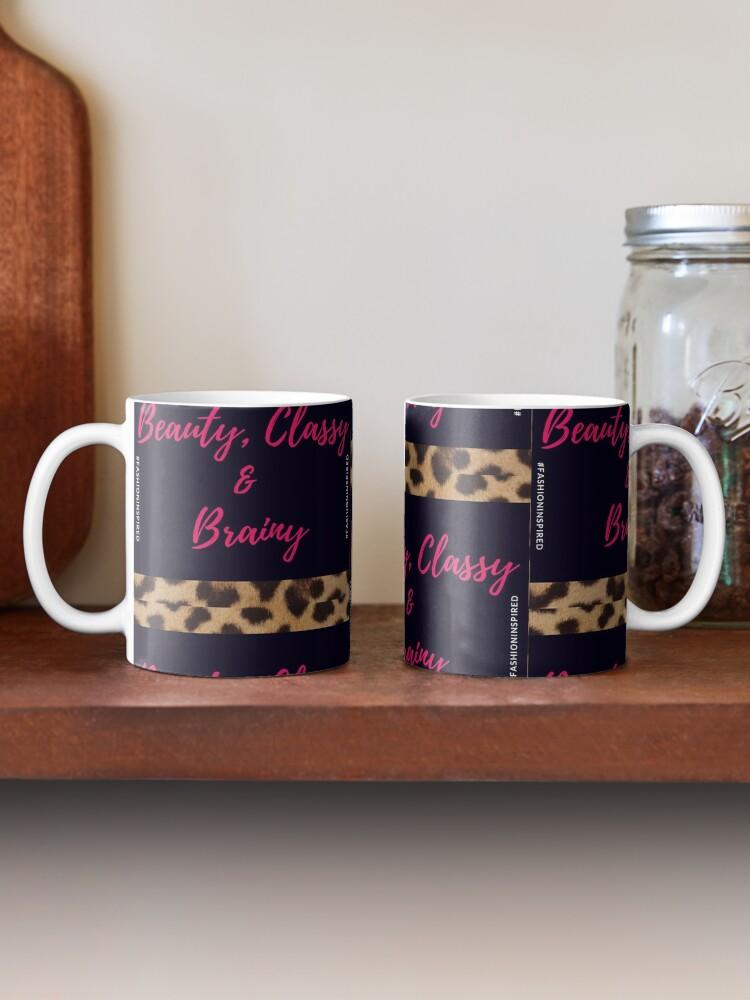 Alternate view of Beauty, Classy & Brainy Mug