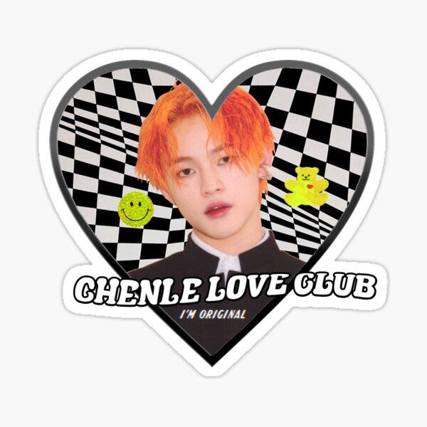 CHENLE love club Sticker
