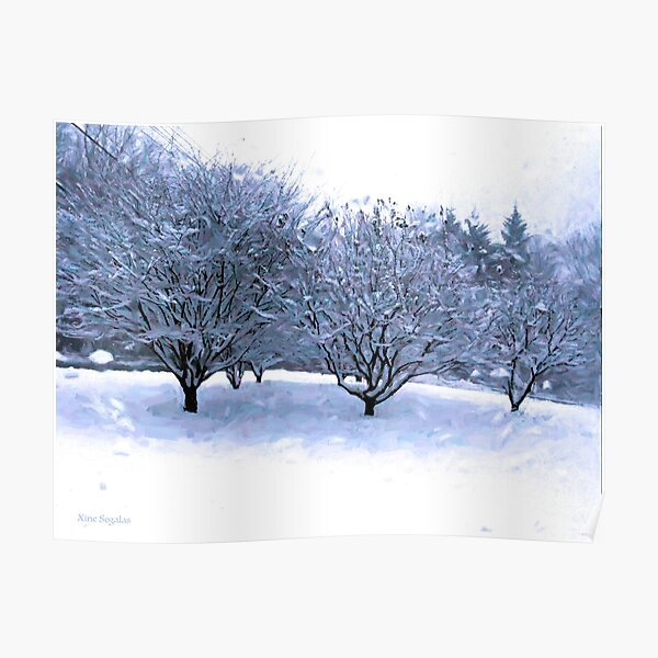 Drive By Shooting No.33 Snow Orchard Poster