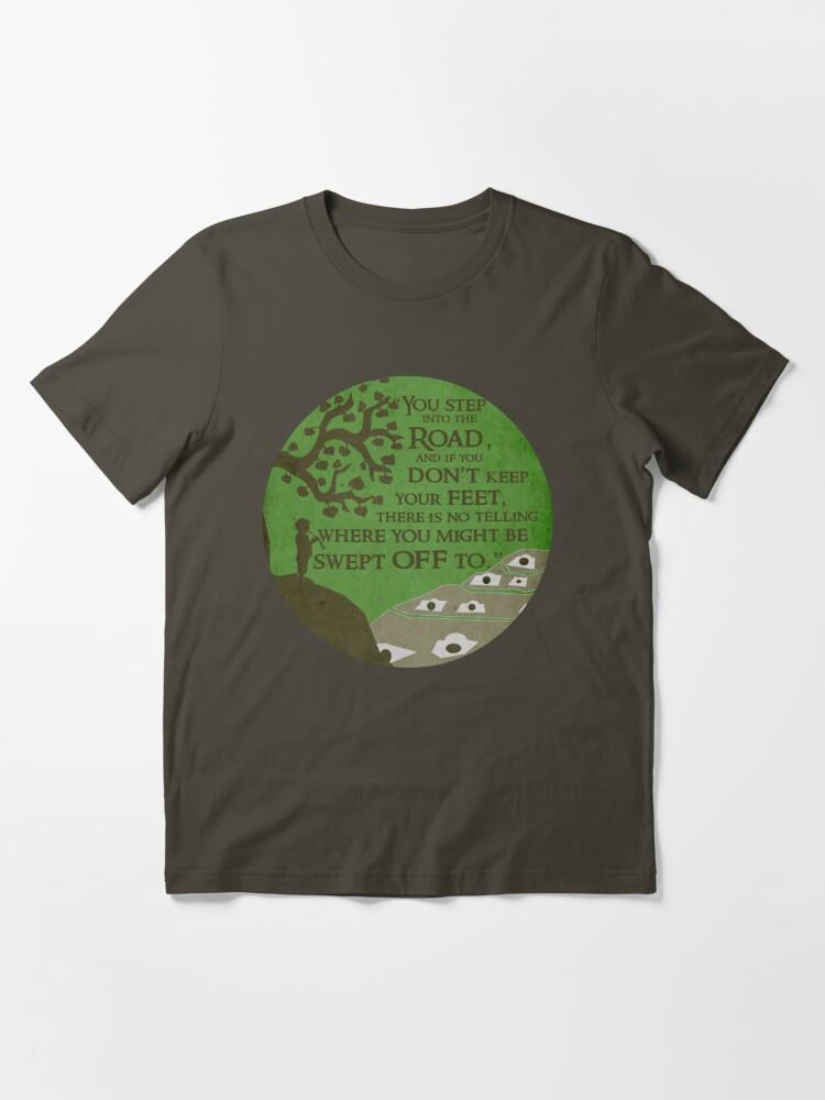 Alternate view of New adventure Essential T-Shirt
