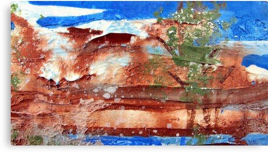 Kakadu Dreaming 1 by Kathie Nichols