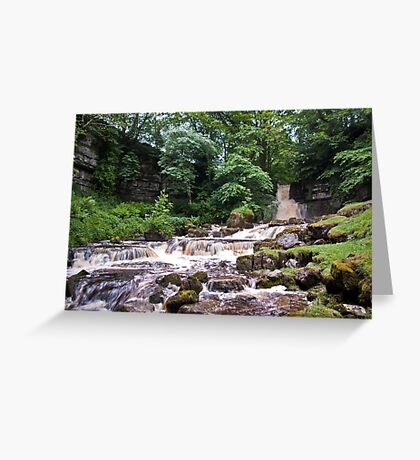 Cliff Beck Falls Greeting Card