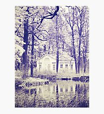 Small house in the park  Photographic Print