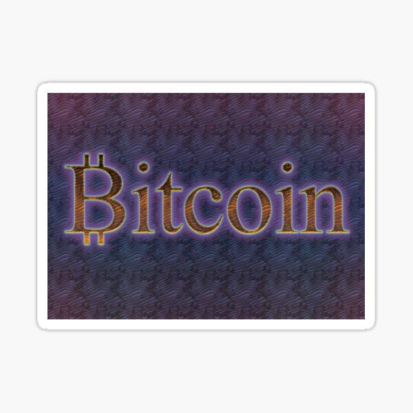 Bitcoin Digital Gold Sticker