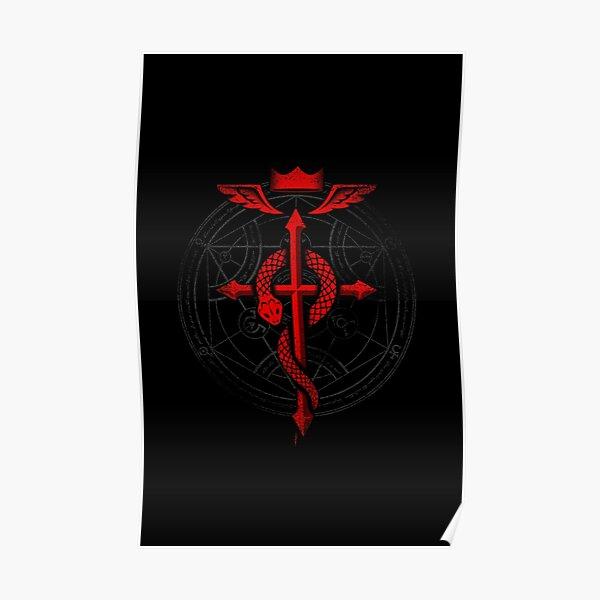 Fullmetal Alchemist Flamel Poster