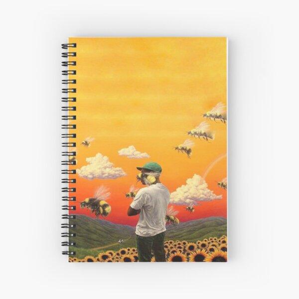 Tyler The Creater Flower Boy Spiral Notebook