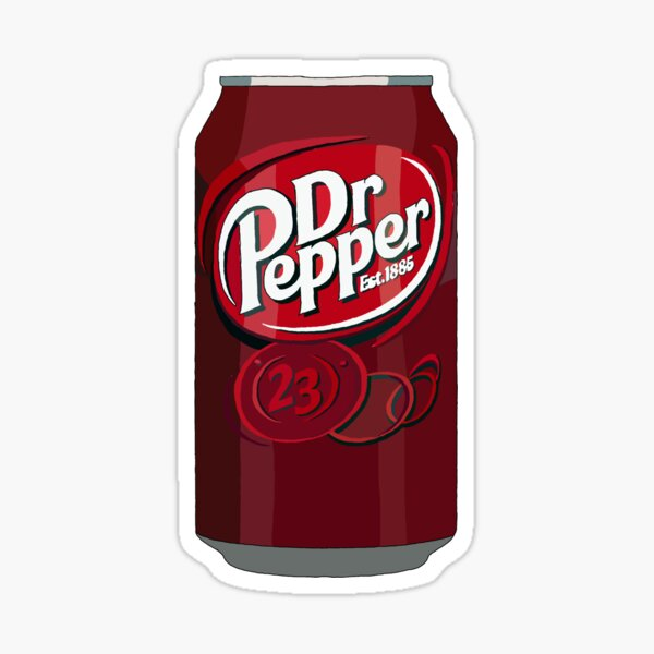 Dr.pepper Can  Sticker