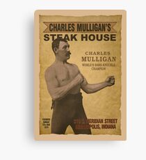 Charles Mulligan's Steak House Canvas Print