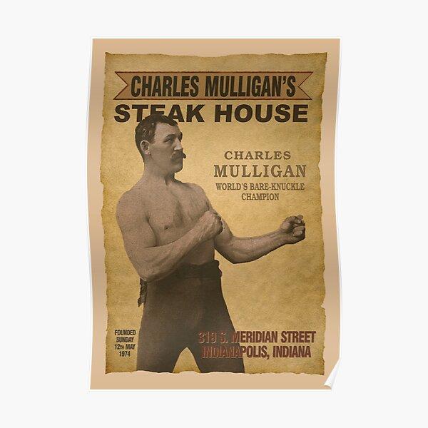 Charles Mulligan's Steak House Poster