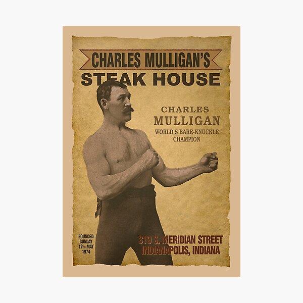 Charles Mulligan's Steak House Photographic Print