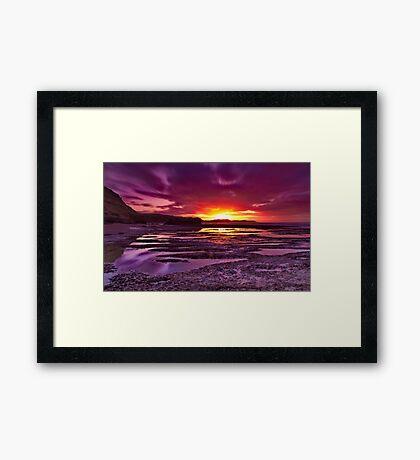 """Jan Juc Ebbtide Dawn"" Framed Print"