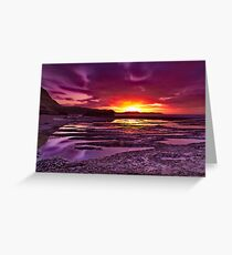 """Jan Juc Ebbtide Dawn"" Greeting Card"