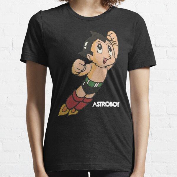 Vintage Astroboy Anime Robot Show Astro Boy Space Art Childhood Cartoon Manga Essential T-Shirt