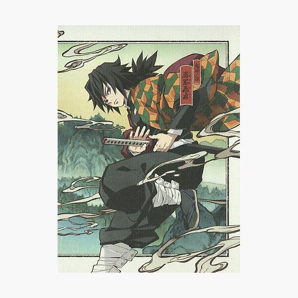 Kimetsu no Yaiba Demon Slayer - Giyuu Tomioka Photographic Print