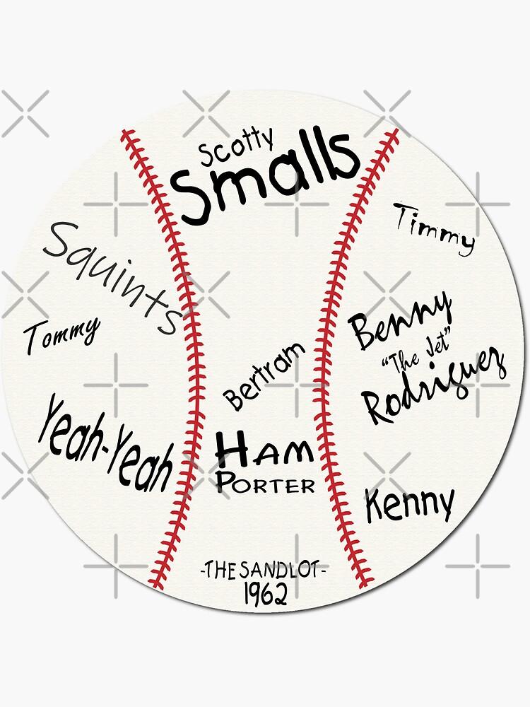 The Sandlot Game Ball by sorrydogstudio