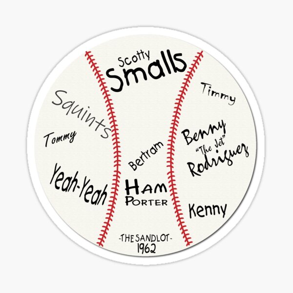 The Sandlot Game Ball Sticker