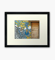 Doors of India Framed Print