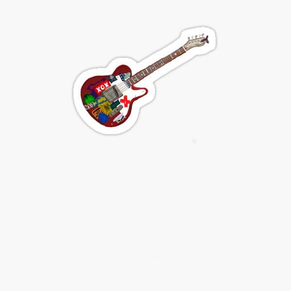 conan gray's guitar  Sticker