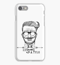 Hipster subculture hand drawn style iPhone Case/Skin