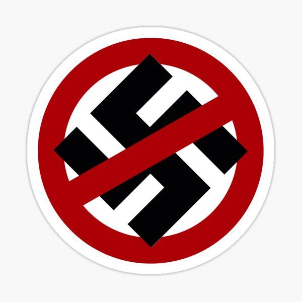 No Nazis / Anti-Nazi Sticker