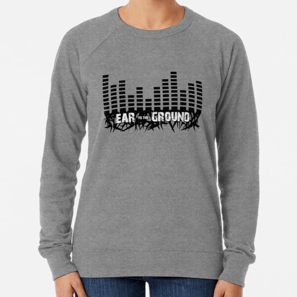 Ear to the Ground Inverted Lightweight Sweatshirt