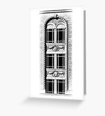 kress building window detail Greeting Card