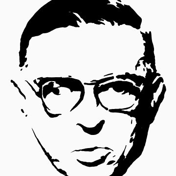 sartre by fo3the13th