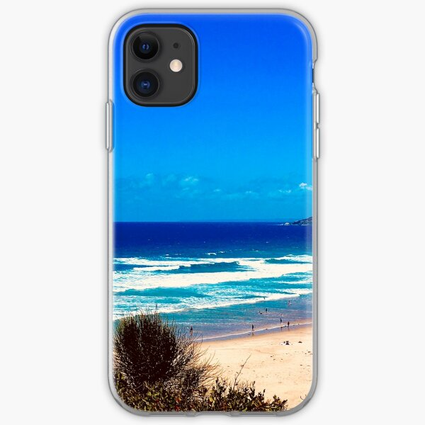 Where sky meets sea  iPhone Soft Case