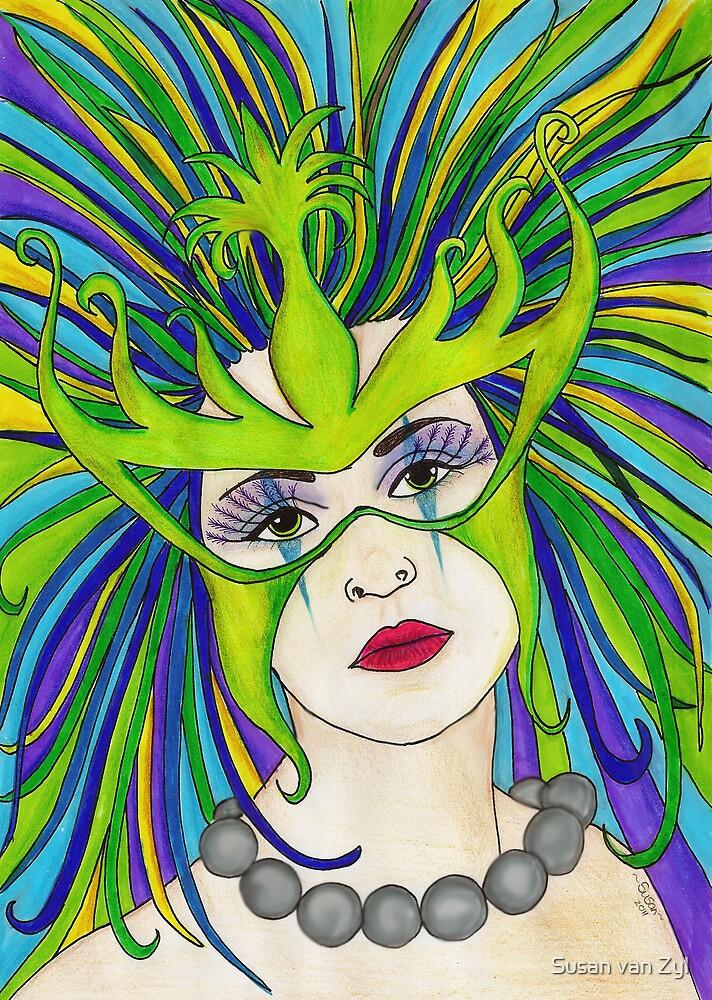 Mardi Gras by Susan van Zyl