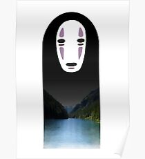 No Face- Spirited Away Poster