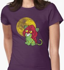 Battlekitty Womens Fitted T-Shirt