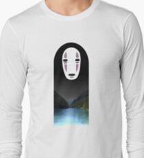 No Face- Spirited Away Long Sleeve T-Shirt